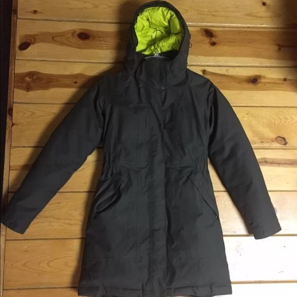 7dca5de55 North Face Arctic Parka II Small Dark Gray/Green